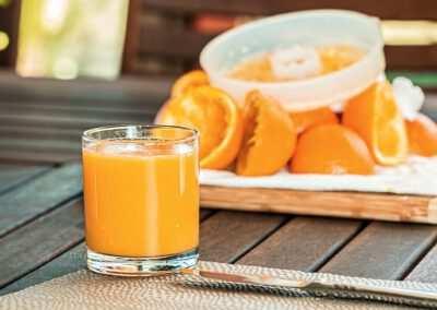 Sinaasappelsap (vers)