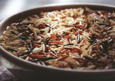 Rijst (zilvervlies)