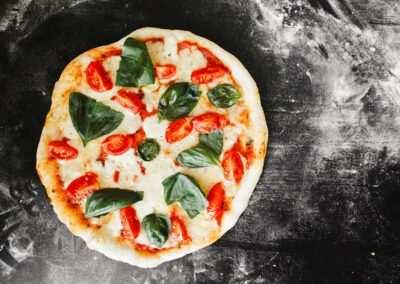Pizza mozzarella – tomaat