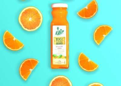 Sinaasappelsap (gepasteuriseerd)